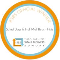 dunster, beach, salad days, dunster beach hut, ultimate, beach, hut, bristol. bath, somerset, tourism, awards, self catering business of the year, sbs, small business sunday, theo paphitis