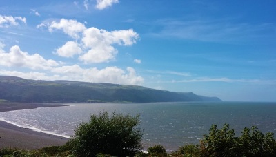 dunster beach holidays, holi moli chalet, salad days chalet, dunster chalet, view, coast, coastal view, bay, village, Dunster beach hut, chalet, beach hut, beach, exmoor, somerset, local area
